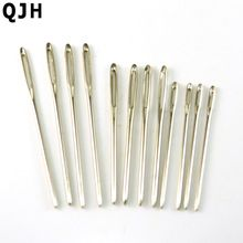 12pc 7cm 6cm 5.3cm DIY manual dedicated hand Needlework stitches Wool&Yarns needle knitting Tools Hand Metal Sewing Accessories(China)