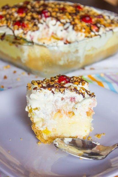 Banana Split Cake   Tasty Kitchen: A Happy Recipe Community!