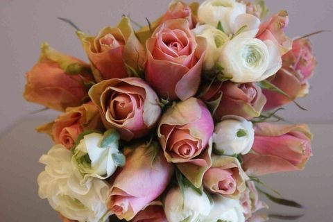 very romantic...pink and white..