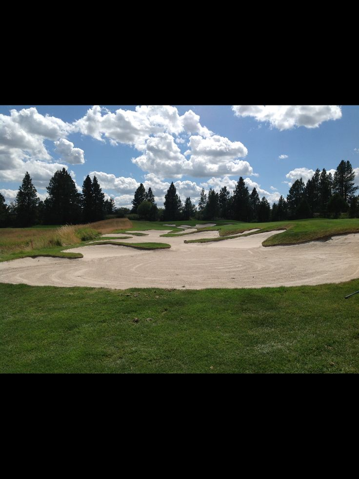 2016-06. Circling Raven Golf Course in Worley Idaho