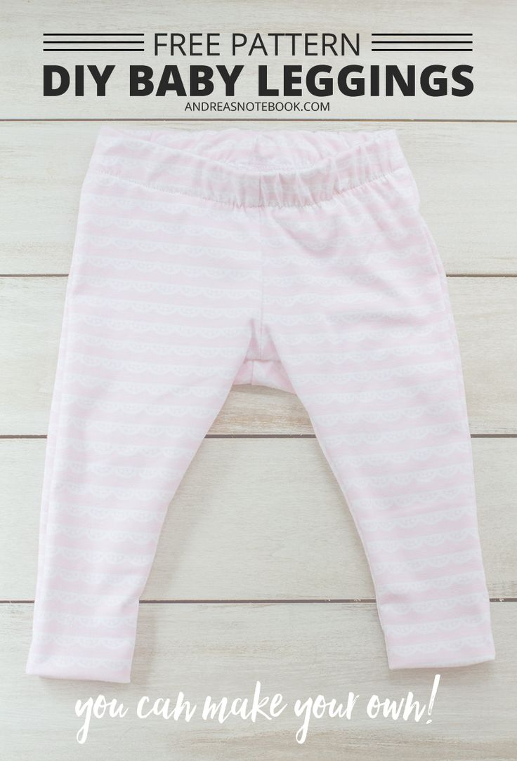 DIY baby leggings pattern - free pattern download - andreasnotebook.com #christiancelebrations #walmart #ad