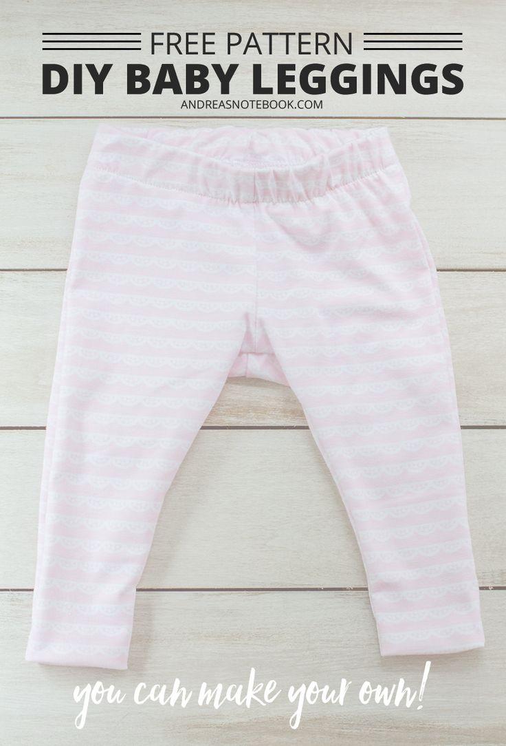 DIY baby leggings pattern - free pattern download - andreasnotebook.com #christiancelebrations #walmart #ad