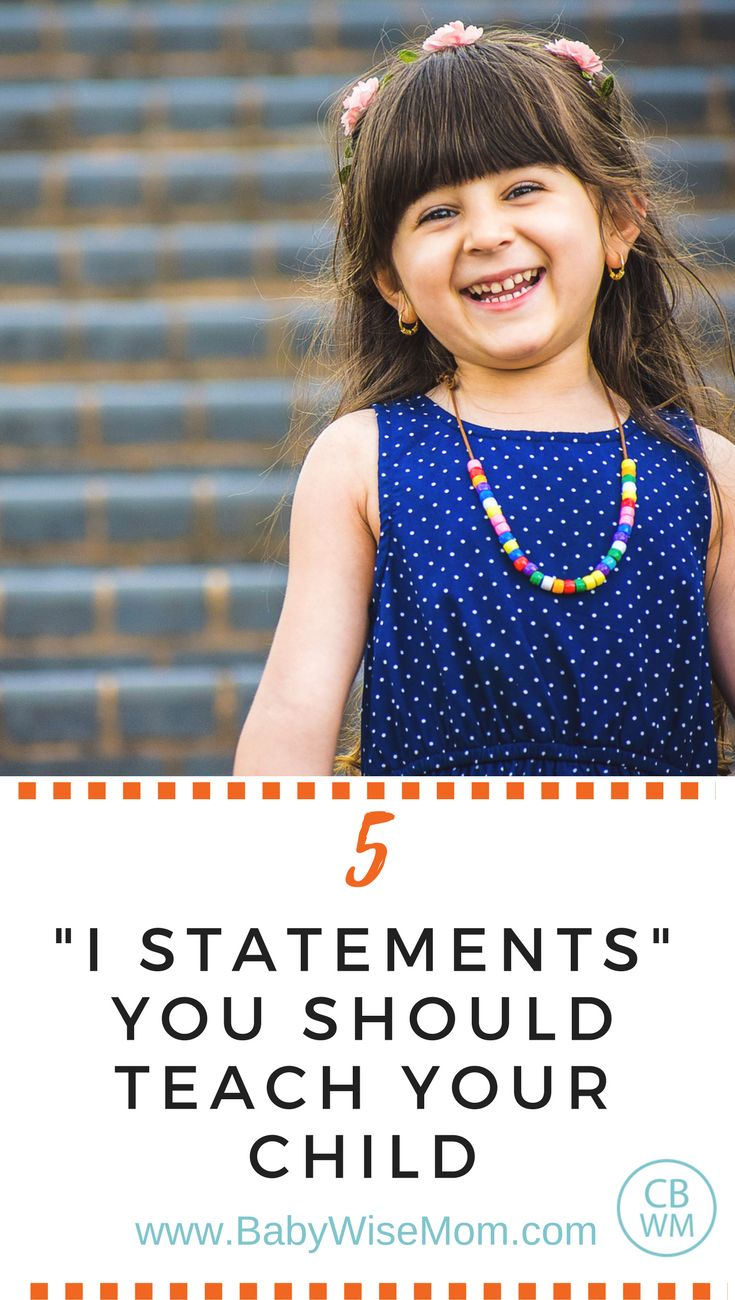 "5 ""I Statements"" To Teach Your Child | Discipline | Affirmation | moral training | #discipline"