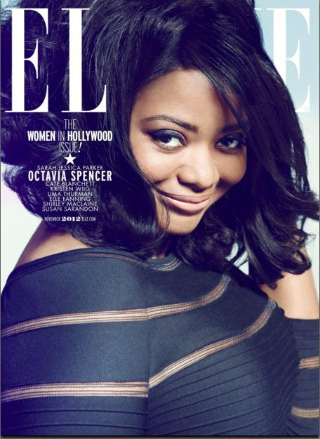 """""""You Don't Know Me Well Enough To Use That Tone"""": ELLE Covergirl Octavia Spencer Talks Getting Bullied In Hollywood http://madamenoire.com/221519/you-dont-know-me-well-enough-to-use-that-tone-elle-covergirl-octavia-spencer-talks-getting-bullied-in-hollywood/#"""