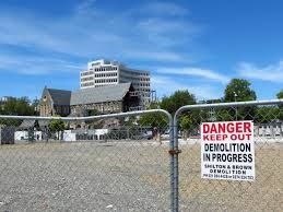 Image result for christchurch ruins nz