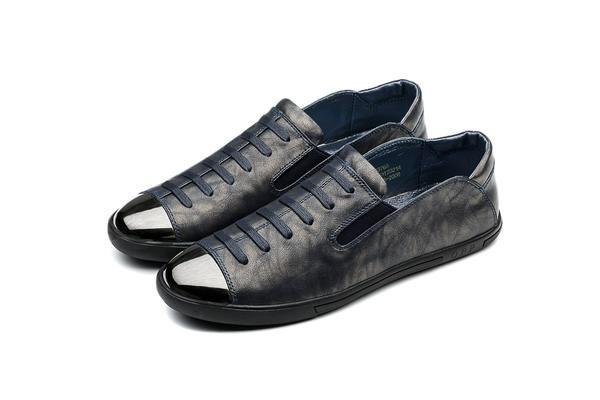 أحذيةبدون كعب رجالية أزرق Loafer Shoes Shoes Black Sneaker