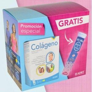 Comprar COLAGENO + ACIDO HIALURONICO + VITAMINA C 30 SOBRES ELADIET MÁS MAGNESIO OBSEQUIO