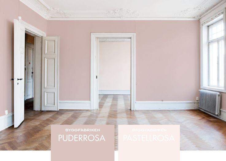 Byggfabrikenkulör - Puderrosa, Pastellrosa
