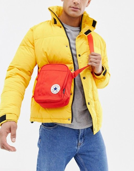 dd7a08e6af2a Converse Chuck Taylor Patch crossbody bag in red