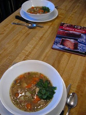 Casual Kitchen: Austrian Cuisine: Viennese Potato Soup (Wiener Kartoffelsuppe)