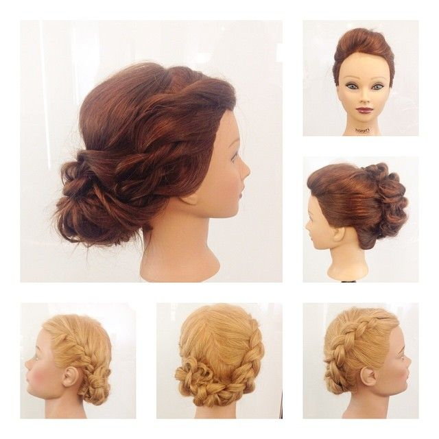 Up-Styling! Had so much fun working on these @hairdesignertv different styles.