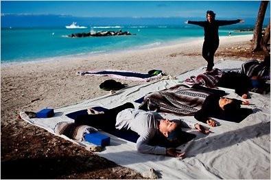 What is better than Yoga on the Beach?  #yoga #beach #keywest: Beaches, Small Island, News, Better, Beach Keywest, Islands, Beach Yoga