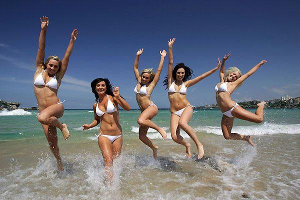 Bikini Contest in Bondi Beach | Bondi Beach Girls ...