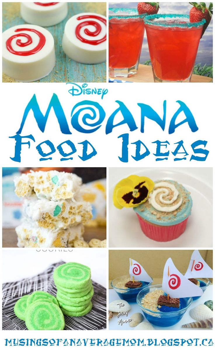 Moana food ideas