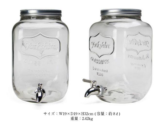 【楽天市場】Yorkshire Mason Jar Drink Dispenser /ヨークシャーメイソンジャードリンクディスペンサー メイソン 【レッドネック・ウォーターサーバ・メイソンジャー】:agleam