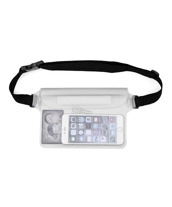 White Waterproof Fanny Pack