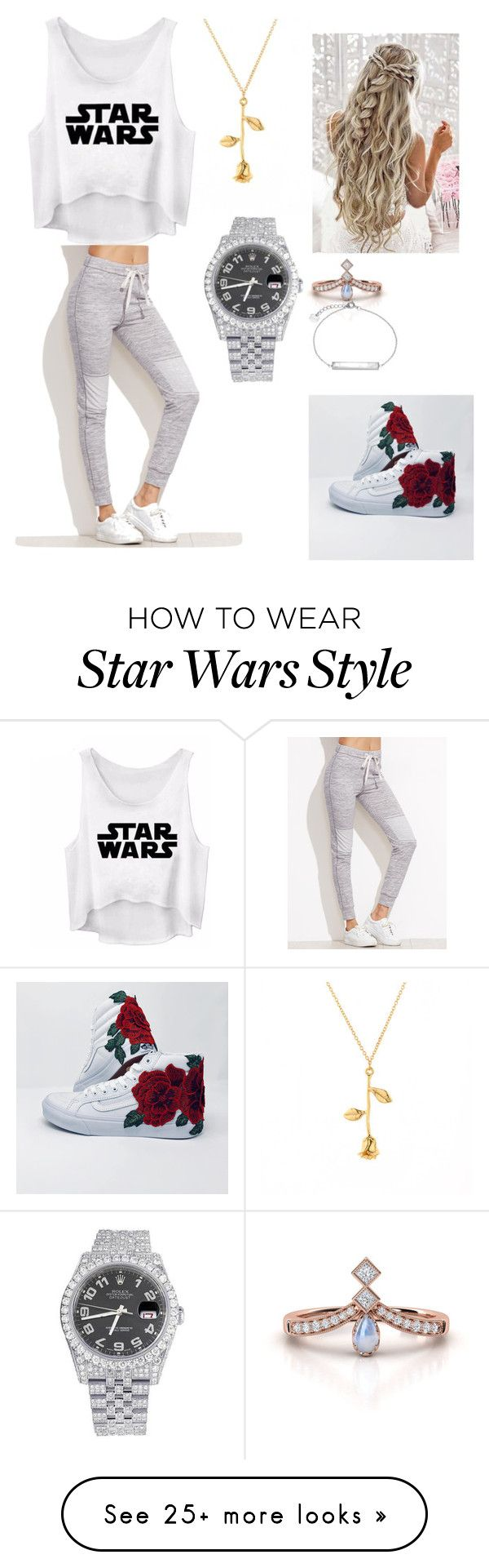 """"""""""" by viola-rawr on Polyvore featuring Rolex and CLUSE"""