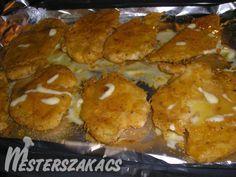 Sütőben sült csirkemellfilé fűszeres panírban recept