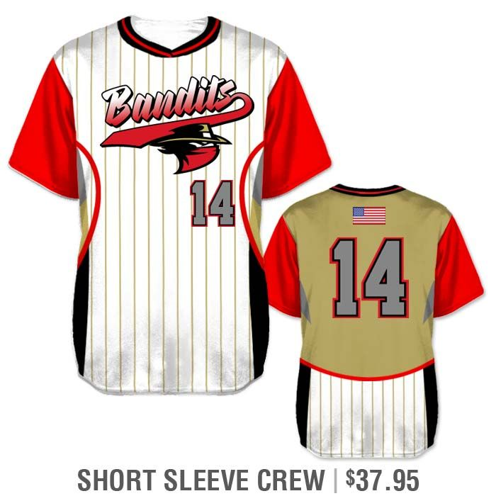 9e935c745 Design your own Elite Foul Lines Softball Jersey featuring pinstripes -  Short Pull-over Crew using our uniform builder.