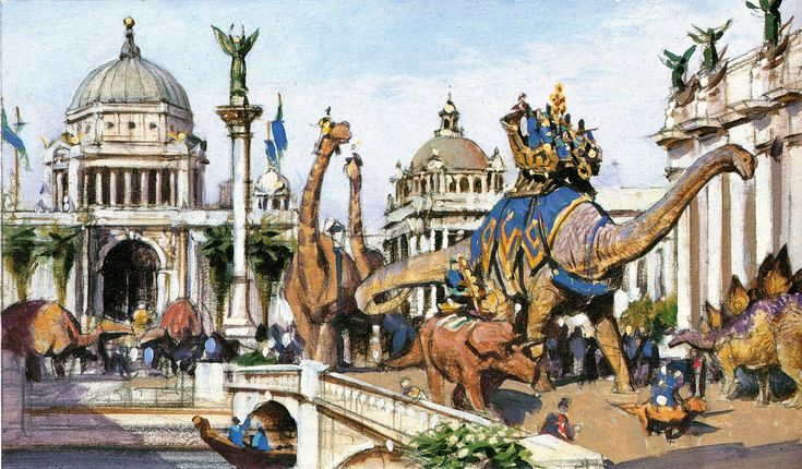 Dinotopia Lost City