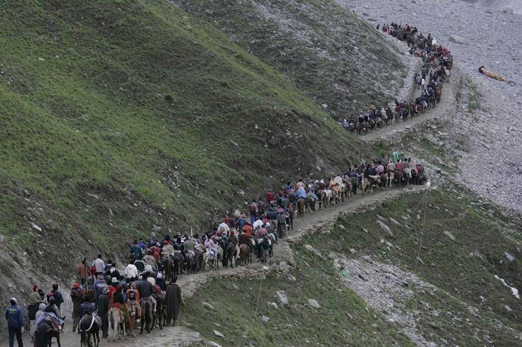 Things to Do in Kashmir:-Amarnath Pilgrimage