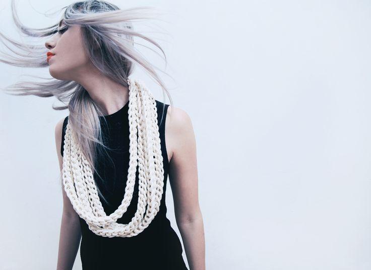 new cotton rope necklace by alienina alienina.com