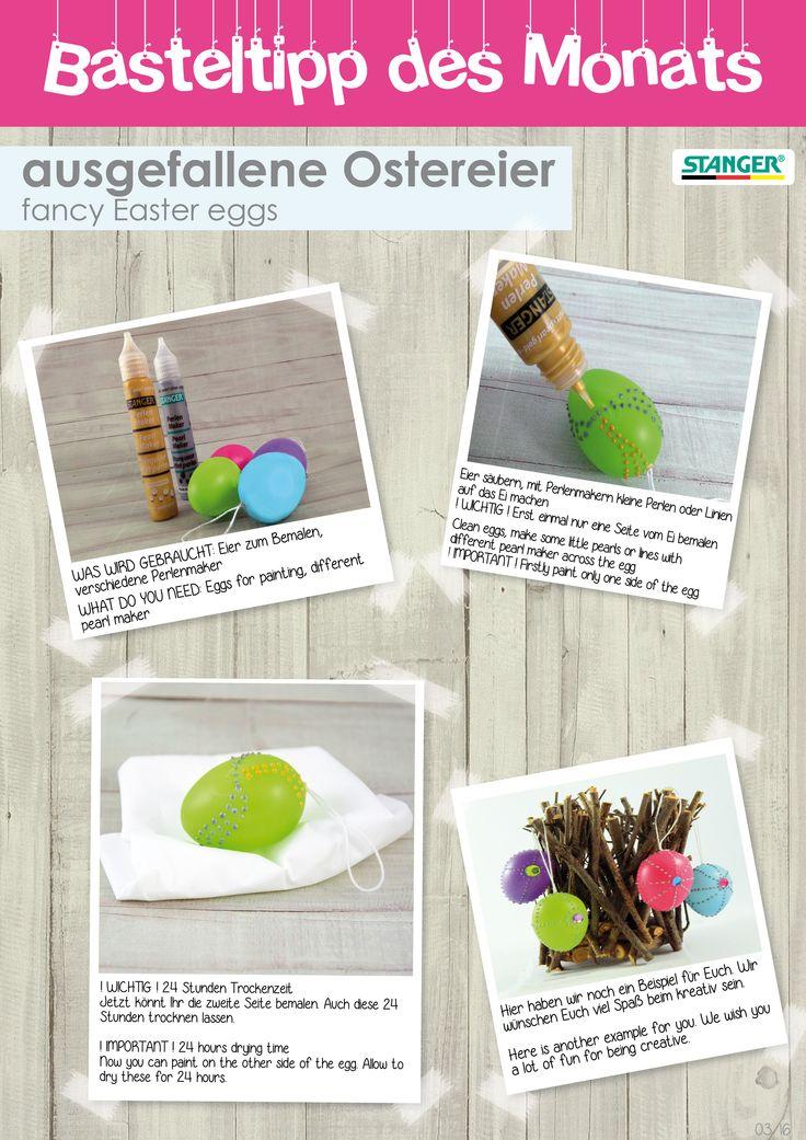 DIY basteltipp | simple diy | easter eggs | Ostereier | stanger