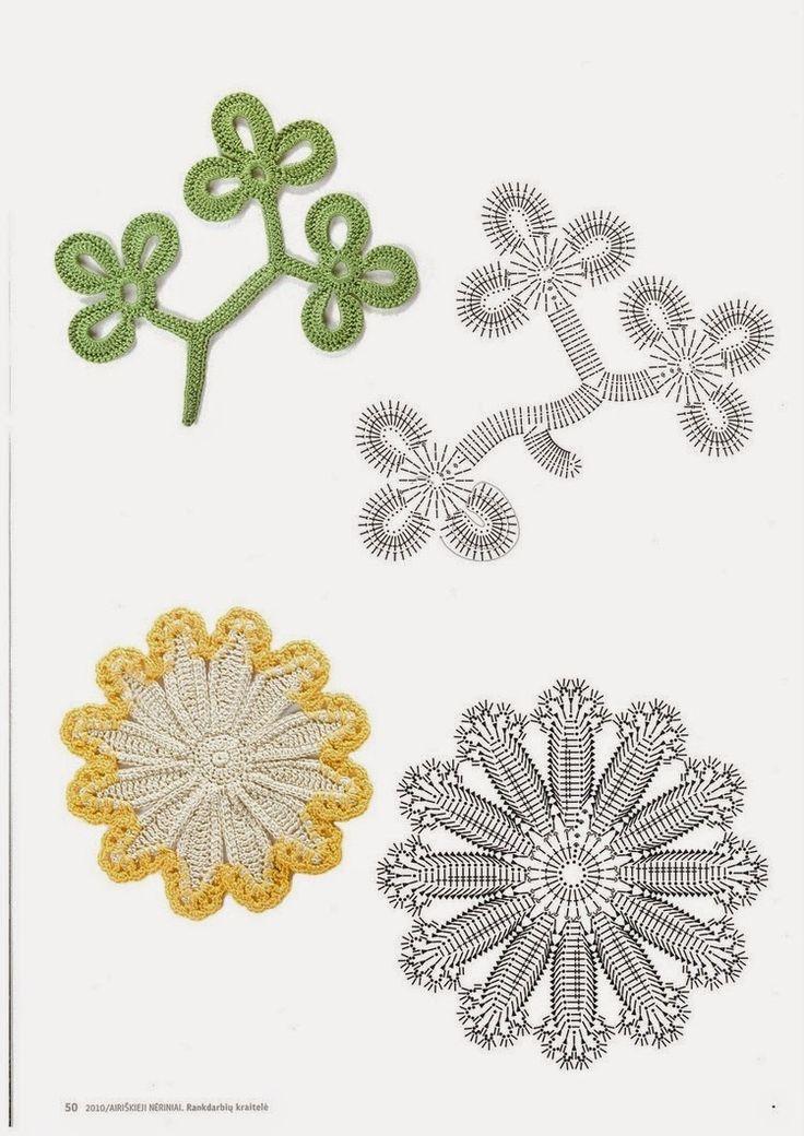 325 best crochet irlandes images on Pinterest | Crochet irlandés ...