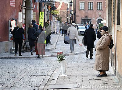Warsaw Street Vendor - Download From Over 34 Million High Quality Stock Photos, Images, Vectors. Sign up for FREE today. Image: 57142809