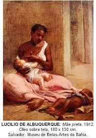 Resultado de imagem para mãe de leite escrava