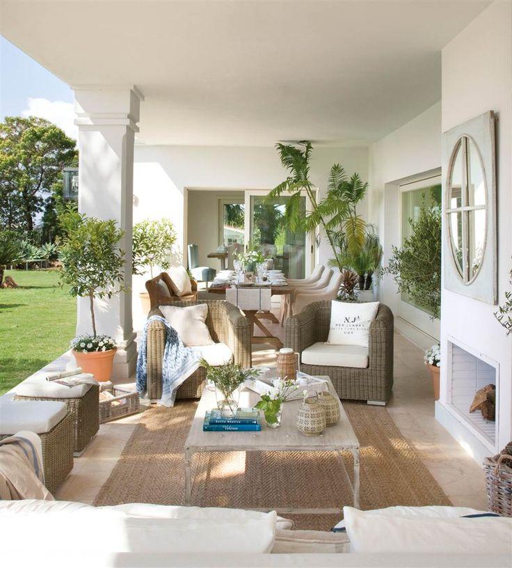 M s de 25 ideas incre bles sobre porche blanco en - Muebles para porche ...