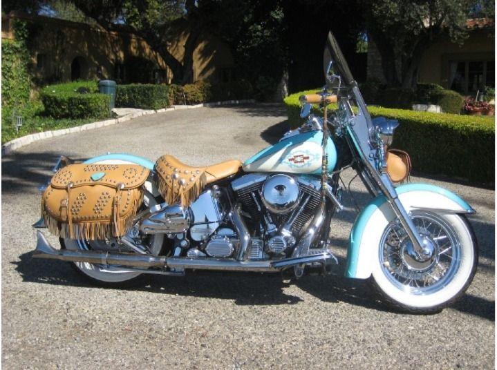 Used Motorcycle For Sale in Palos Verdes, California: 1994 Harley-Davidson Heritage Softail Classic FLSTC - Classifieds.VehicleNetwork.net C...