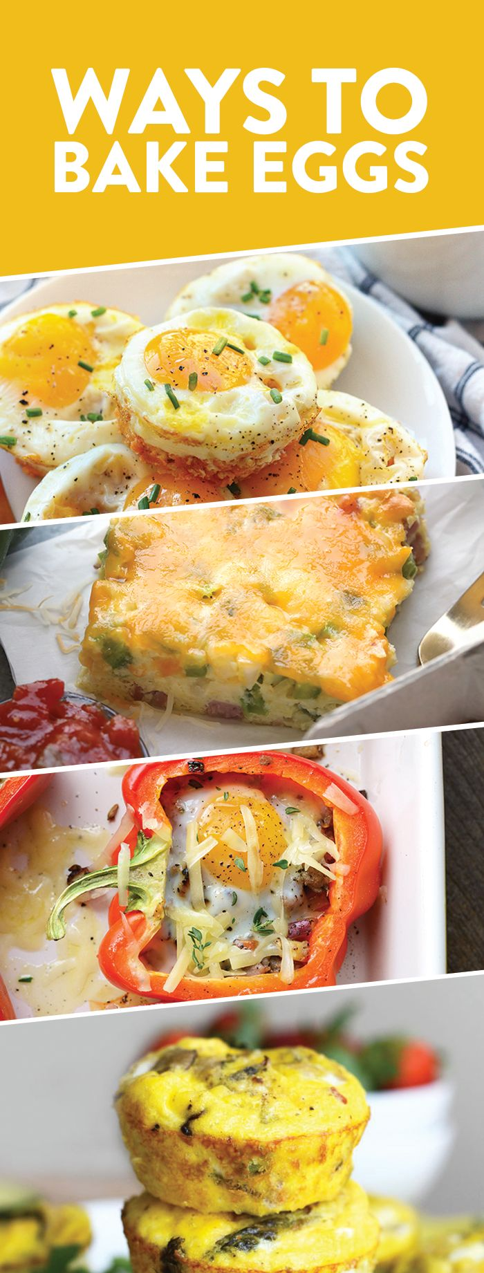 10 Ways to Bake Eggs in the Oven - Fit Foodie Finds
