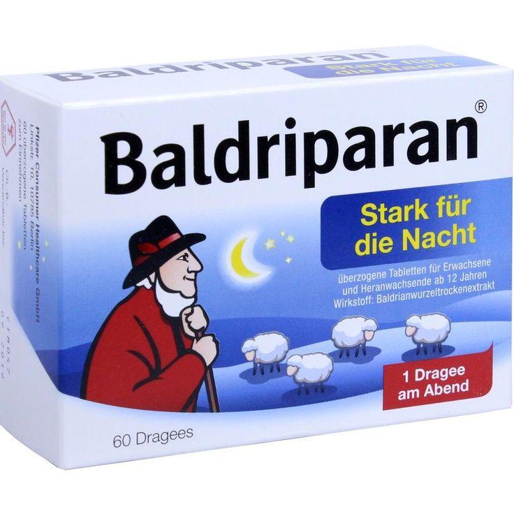 BALDRIPARAN Stark für die Nacht überzogene Tab:   Packungsinhalt: 60 St Überzogene Tabletten PZN: 00499181 Hersteller: Pfizer Consumer…