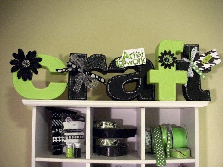 79 best craft room dreams images on pinterest craft for Room decor embellishment art 3d