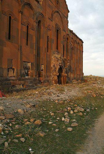 Armenian Cathedral of Ani, Church of the Holy Mother of God (Surp Asdvadzadzin), Armenian Kingdom of Ani, SE Turkey