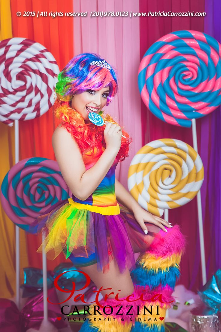 Candyland Sweet Fifteen Photo Session