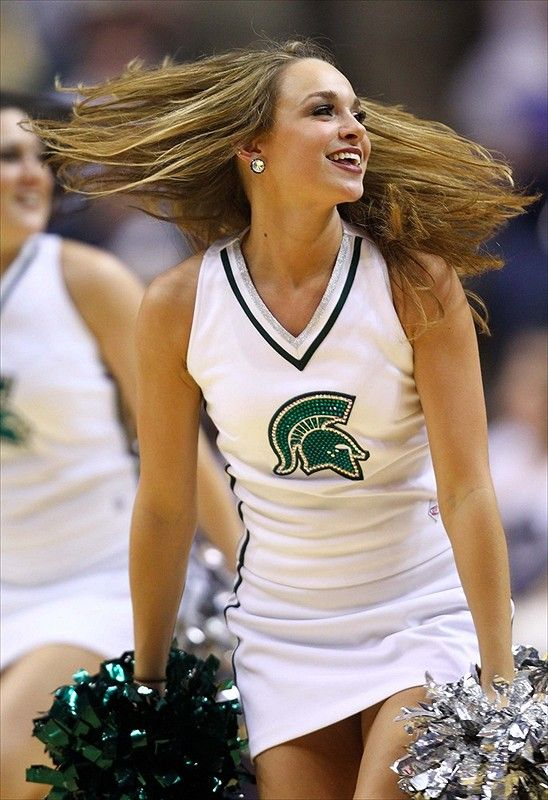 Michigan State Spartans cheerleader photo of the day - 3/11/2013