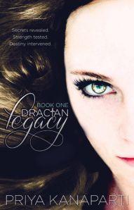 "Cover Art for ""Dracian Legacy"" by Priya Kanaparti"