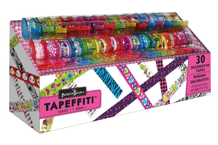 Girl Toys 9 10 : Tapeffiti art tape caddy toys search and year old