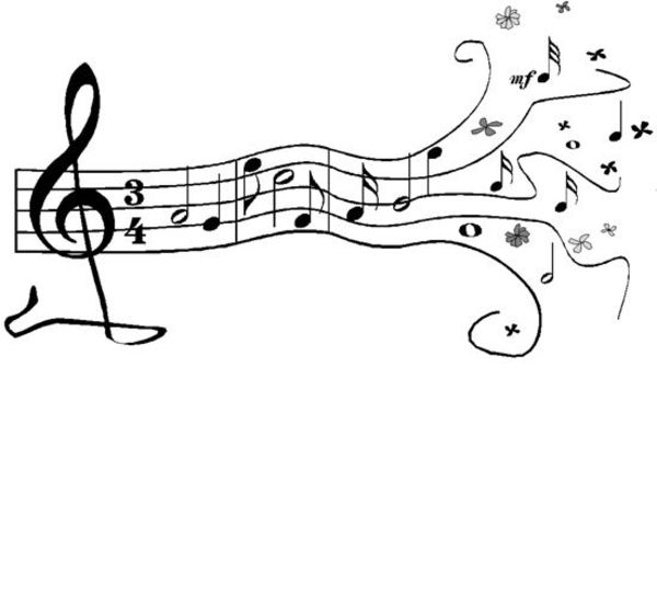 music stencils to print free | ... Musical Notes image ... - photo#37
