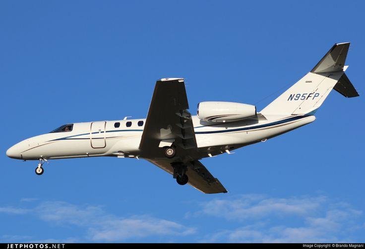 Cessna 525C Citation Jet 4, Private, N95FP, cn 525C0088. Foto: Milano, Italy, 6.9.2016.