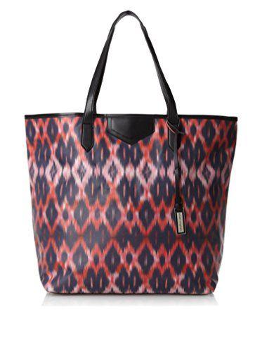 Urban Originals Women's Ballina Print Tote Bag, Navy Batik