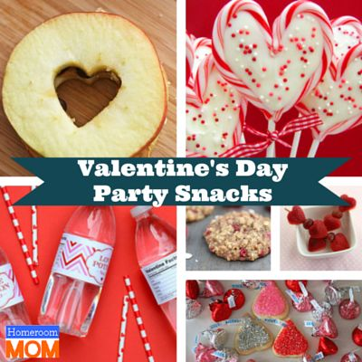 Fun snacks for your valentine 39 s day class party for Valentines day party foods