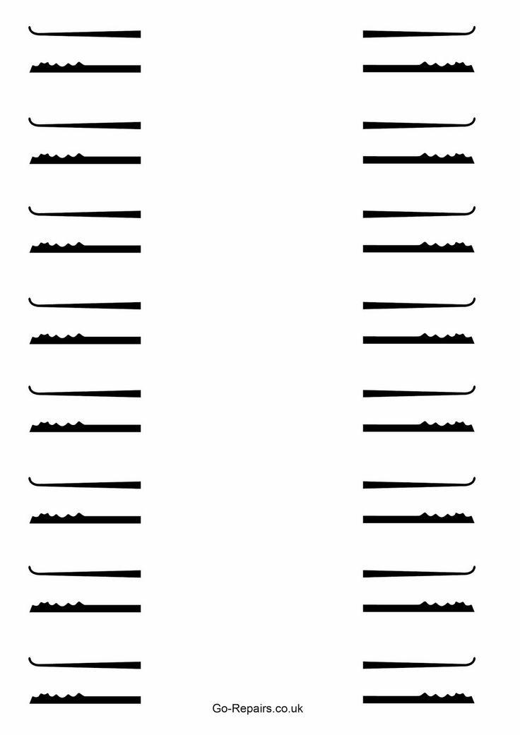 free lock pick templates learning pinterest schl ssel und schablone. Black Bedroom Furniture Sets. Home Design Ideas