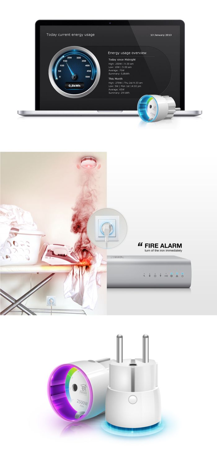 7 best smart home system fibaro images on pinterest golf wave and products. Black Bedroom Furniture Sets. Home Design Ideas
