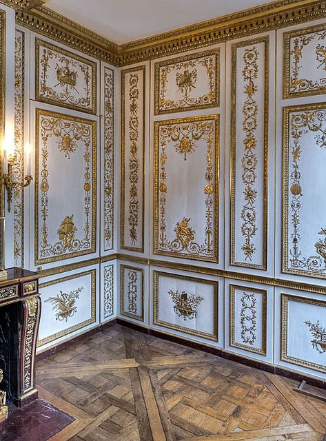 Versailles - Cabinet Wardrobe of Louis XVI - Leads to a Hidden Room