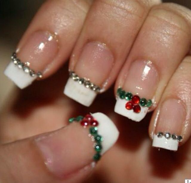 287 best christmas nails images on pinterest christmas nails christmas nails prinsesfo Image collections