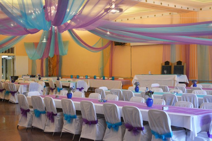 wedding hall decorations quince pinterest hall
