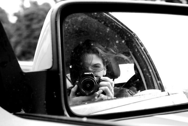 Your typical self-portrait. #photography